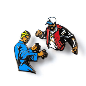 Aliens Lapel Pin Set-Lapel Pin-Good Dope Supply Co.
