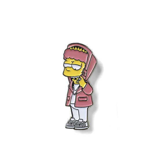 BART'RON LAPEL PIN-Lapel Pin-Good Dope Supply Co.