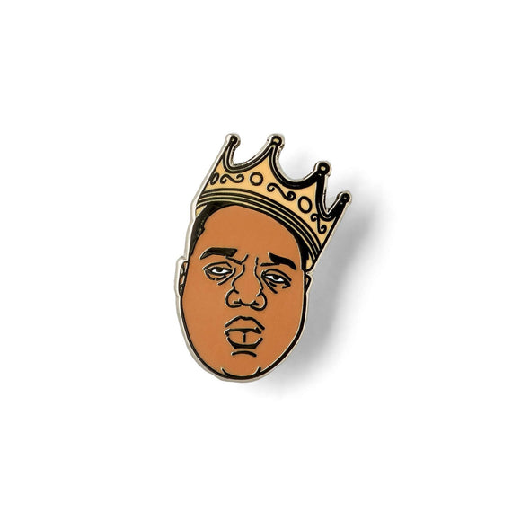 KING OF NEW YORK LAPEL PIN-Lapel Pin-Good Dope Supply Co.