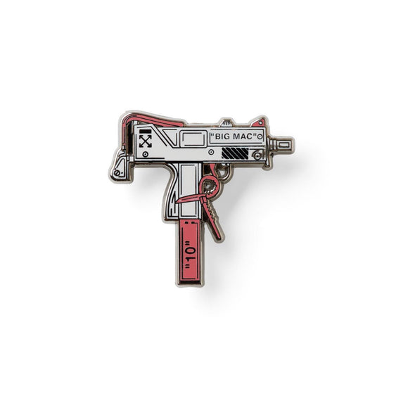 OFF-WHITE GUN LAPEL PIN-Lapel Pin-Good Dope Supply Co.