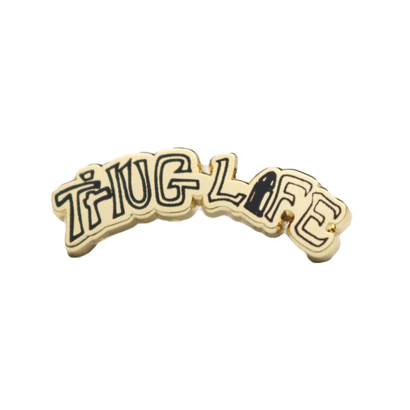 THUG LIFE TATTOO LAPEL PIN-Lapel Pin-Good Dope Supply Co.