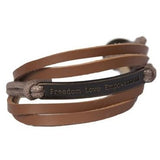 Phklarlan ~ Leather Bracelet - Global Empowerment Marketplace