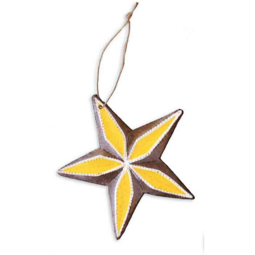Star Metal Ornament - Global Empowerment Marketplace