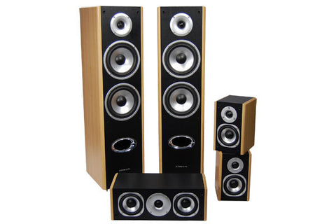 Streem HT-335 5 Piece Home Theater Speaker Set