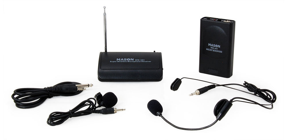 Mason WM-393 Wireless Headset Microphone System