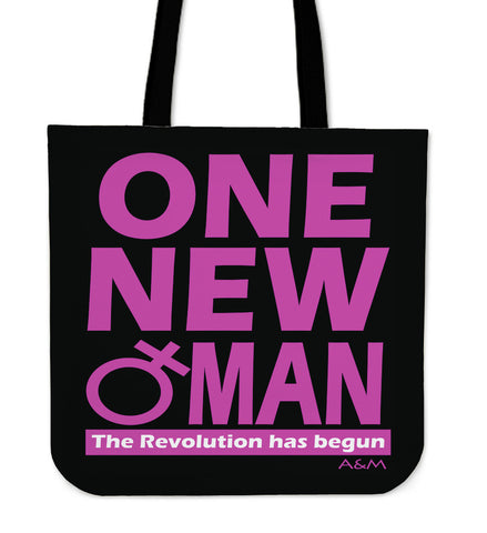 ONE NEW WOMAN tote