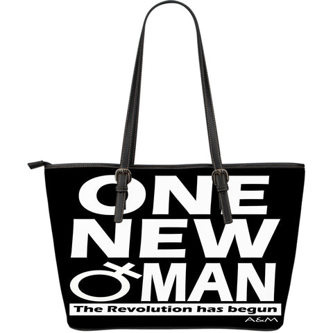 one new woman leather tote