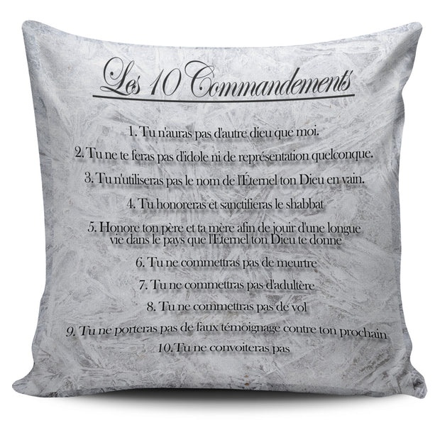 10 commandments pillow cover (free shipping)