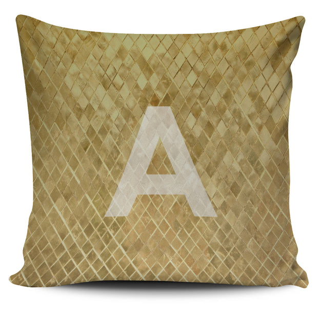 COVER PILLOW LETTERS A