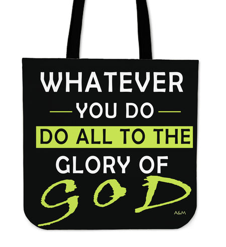 TOTE WHATEVER YOU DO!
