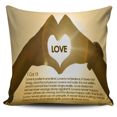 LOVE COVER PILLOW