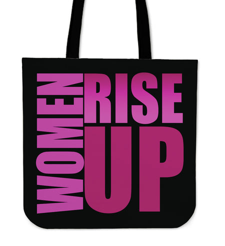 TOTE WOMEN RISE UP PINK