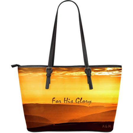 Glory leather tote!