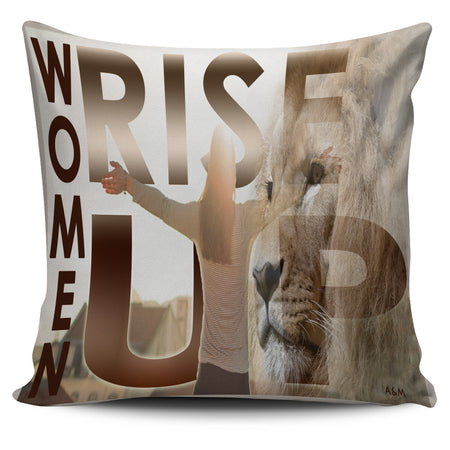 WOMEN RISE UP COVER PILLOW