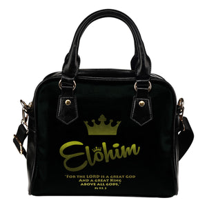 Elohim leather handbag