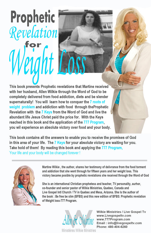 Prophetic Revelation For Weight Loss 777 Program New Edition