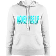 women rise up ! LST254 Sport-Tek Ladies' Pullover Hooded Sweatshirt