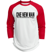 ONE NEW MAN HORIZONTAL!  Polyester Game Baseball Jersey