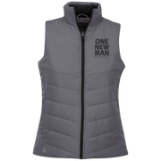 ONE NEW MAN!! Ladies Quilted Vest