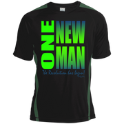 one new man 2 Tall Colorblock Competitor Tshirt
