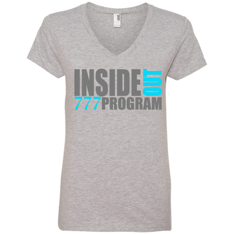 777 Program!  Ladies' V-Neck Tee