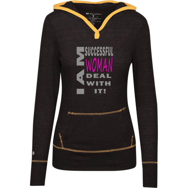 I AM SUCCESSFUL WOMAN! Junior Lightweight T-Shirt Hoodie
