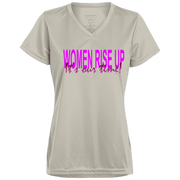 women rise up! 1790 Augusta Ladies' Wicking T-Shirt