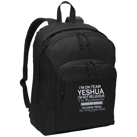 I'm on team Yeshua! Basic Backpack