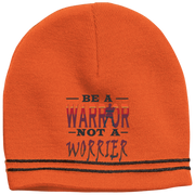 BE A WARRIOR! Colorblock Beanie