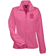 ONE NEW WOMAN! Womens Fleece Jacket