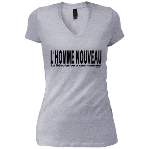 L'homme nouveau horizontal ! Junior Vintage Wash V-neck Tee