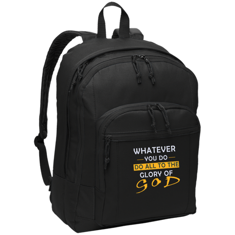 Whatever you do!   Basic Backpack