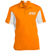 JESUS/Men's Colorblock Performance Polo