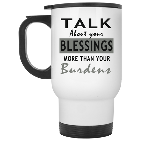 Talk about your blessing! Travel Mug