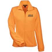 JESUS!  Womens Fleece Jacket