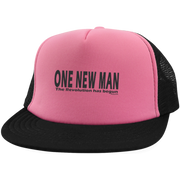 ONE NEW MAN HORIZONTAL!  Trucker Hat with Snapback