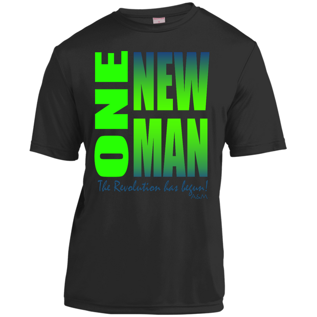 one new man 2 Youth Moisture-Wicking Shirt