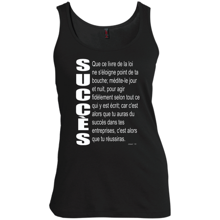 succès (Josué 1.8)Women's Scoop Neck Tank Top
