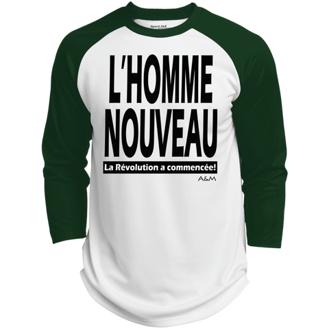 l'homme nouveau ! Polyester Game Baseball Jersey
