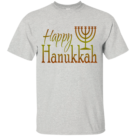 HAPPY HANUKKAH! Custom Ultra Cotton T-Shirt