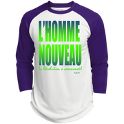 l'homme nouveau 2 Polyester Game Baseball Jersey