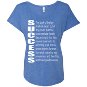 success Next Level Ladies Triblend Dolman Sleeve