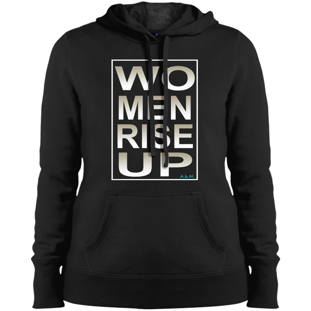 women rise up gen!  LST254 Sport-Tek Ladies' Pullover Hooded Sweatshirt
