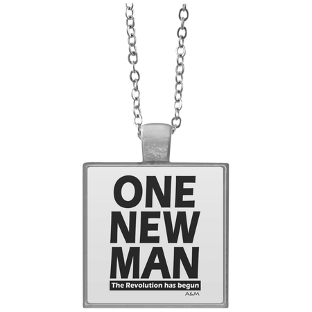 ONE NEW MAN!! Square Necklace