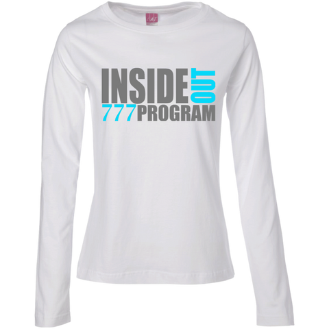 777 Program! Ladies Long Sleeve Cotton TShirt