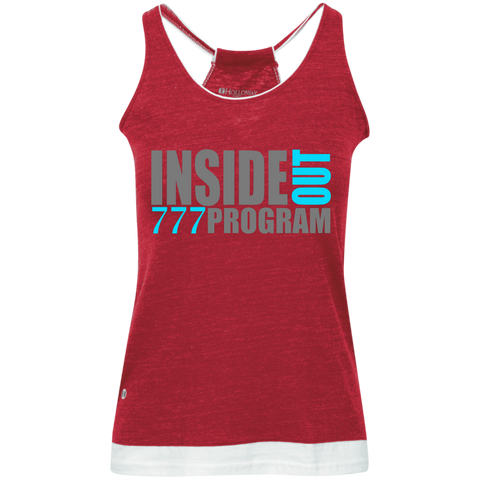 777 Program! Juniors' Vintage Heathered Tank