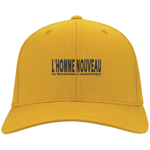L'homme nouveau horizontal ! Youth Embroidered Dri Fit Nylon Cap