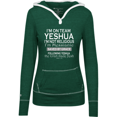 I'm on team Yeshua! Junior Lightweight T-Shirt Hoodie