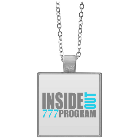 777 Program!  Square Necklace