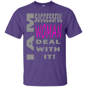 I am successful woman! Custom Ultra Cotton T-Shirt